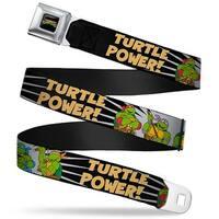 Classic Teenage Mutant Ninja Turtles Logo Full Color Classic Teenage Mutant Seatbelt Belt