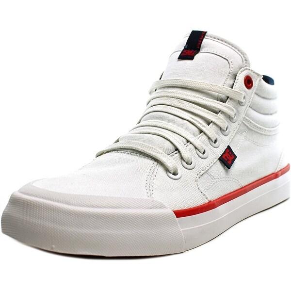 DC Shoes Evan Hi TX Women Round Toe Canvas Skate Shoe