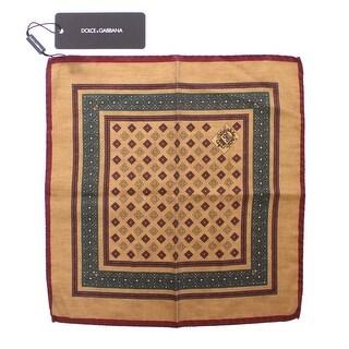 Dolce & Gabbana Dolce & Gabbana Multicolor Silk Handkerchief - One size