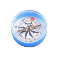 """Unique Bargains Unique Bargains 1.6"""" Dia Portable Clear Round Compass Travel Helper"""
