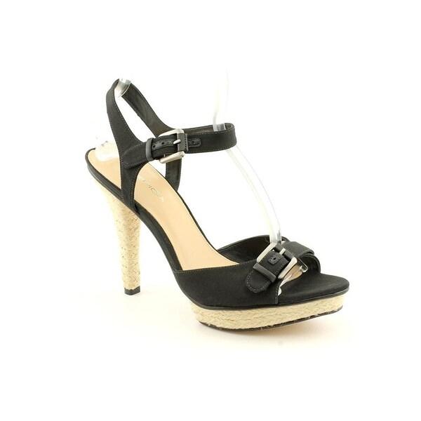 Via Spiga Cain Ankle-Strap Sandals - Black - 10