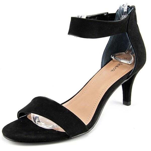 Style & Co Paycee Women Black Sandals