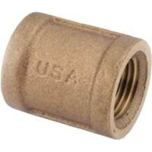 Anderson Metals 738103-12 Coupling Rough, 3/4, Brass