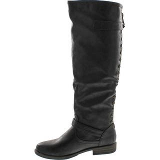 5dd9b991c410 Buy Black Bamboo Women s Boots Online at Overstock