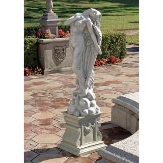 ESTATE ASCENDING ANGEL STATUE DESIGN TOSCANO garden sculpture sculptures
