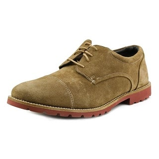 Rockport Channer W Round Toe Suede Oxford