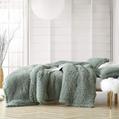 Fluffy Clouds - Coma Inducer Oversized Comforter - Iceberg Green