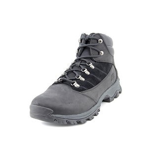 Timberland Earthkeepers Rangeley Mid Men Round Toe Leather Black Hiking Boot