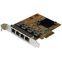 Startech St1000spex43 4-Port Pci Express Gigabit Network Adapter Card