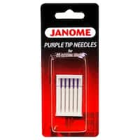 Janome Purple Tip Sewing Machine Needles