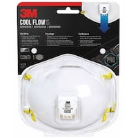 3M 8515HA1-A Tekk Protection Welding Valved Respirator with P95 Valve, N95