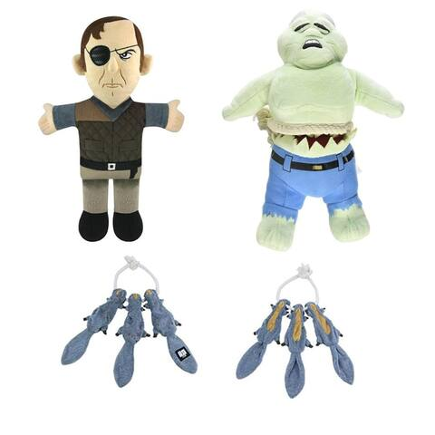 The Walking Dead Dog Gift Set: Chew Toys and Tug Toy - Multi