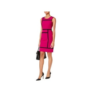 Nine West Womens Wear to Work Dress Sleeveless Above Knee