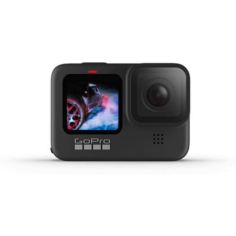 GoPro HERO9 Black Waterproof Action Camera with 5K Ultra HD Video,