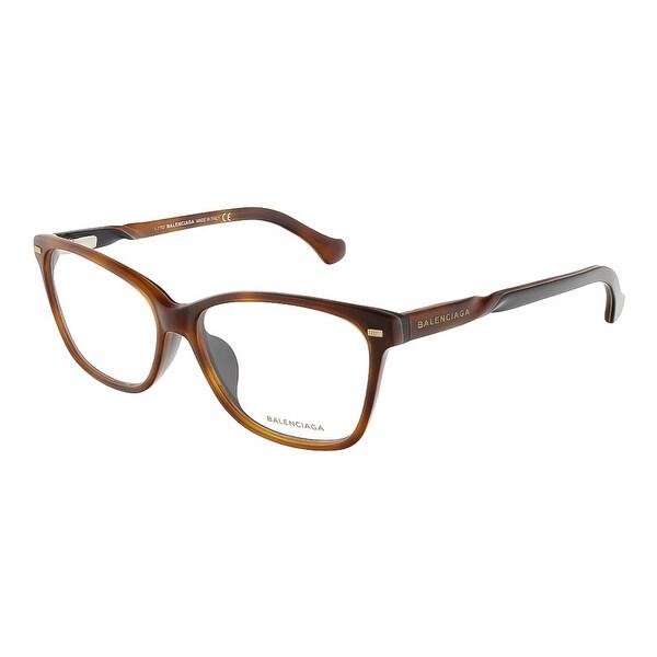 Balenciaga BA4007/V 056 Havana Gradient Mustard Cat Eye Opticals - havana gradient mustard - 54-14-1