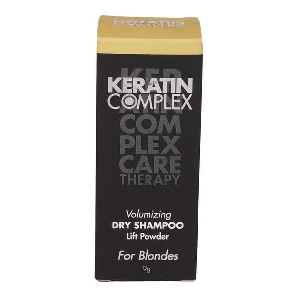 Keratin Complex - Volumizing Dry Shampoo Lift Powder Blonde for Unisex 0.31 Oz