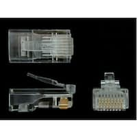 Startech Cat5e Rj45 Stranded Modular Plug Connector - 50 Pack (Crj4550pk)