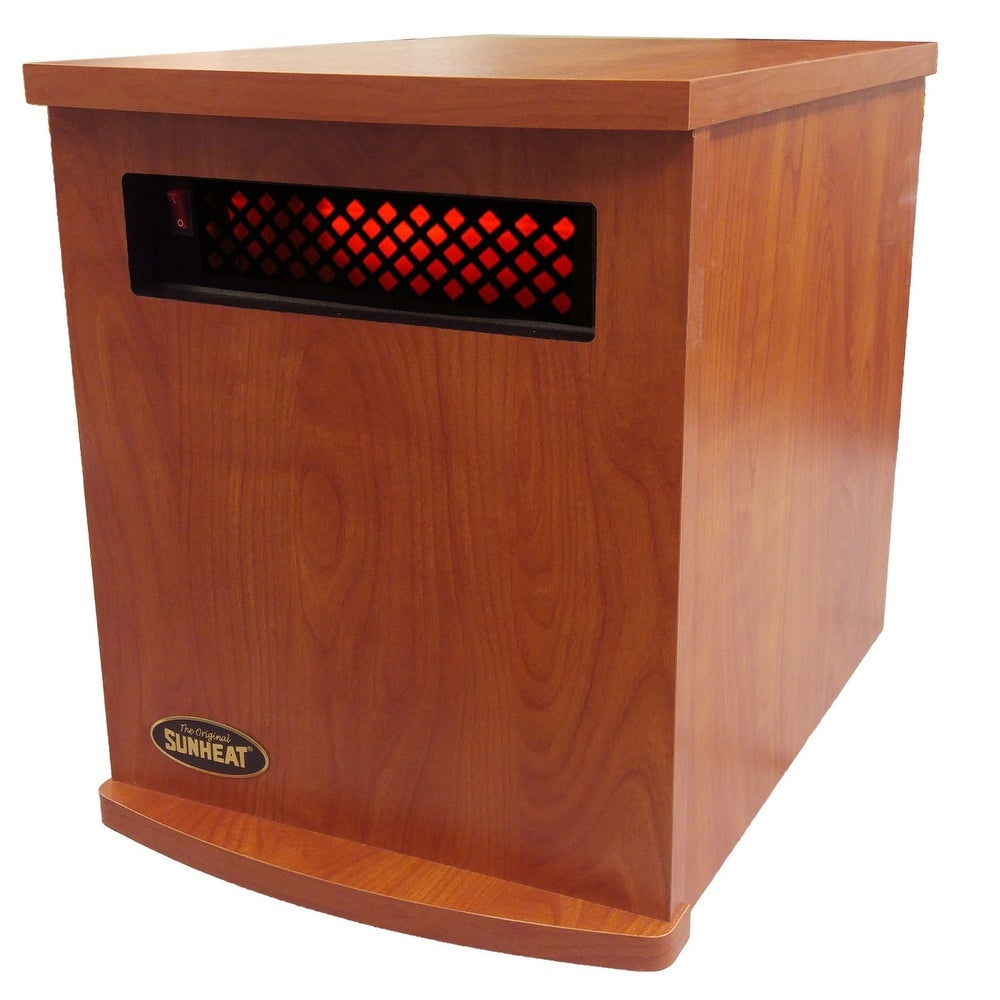 Original SUNHEAT Cherry USA1500 Infrared Heater Made in the USA / Heats up to 1000 Square feet