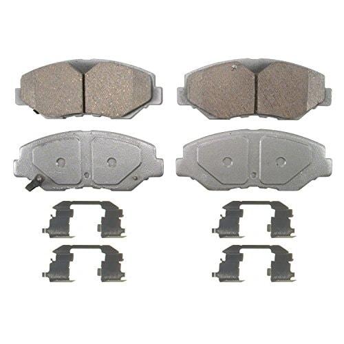 Wagner ThermoQuiet QC914 Ceramic Disc Pad Set With Installat