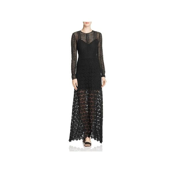 e0b927a172 Shop Theory Womens Rabella Maxi Dress Silk Lace - Ships To Canada ...