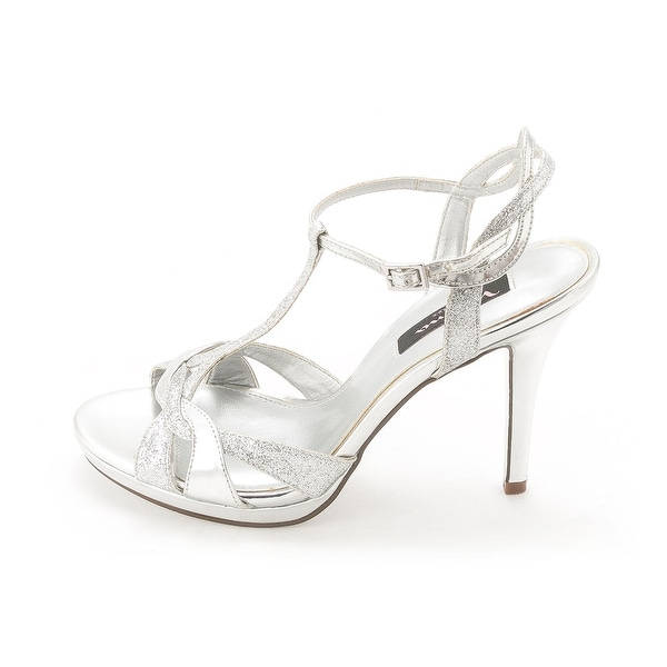 Nina Womens Reilly Open Toe Ankle Strap Classic Pumps
