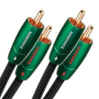 AudioQuest Evergreen RCA Male to RCA Male Cable - 3.28 ft. (1m)