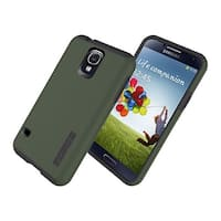 Incipio DualPro Shock-absorbing Case for Samsung Galaxy S5 - Olive Green