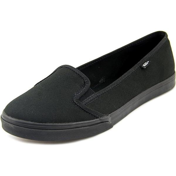 e5d26a17591fe0 Shop Vans KVD Women Round Toe Canvas Black Loafer - Free Shipping On ...