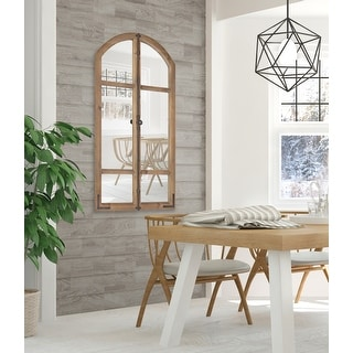 Link to Kate and Laurel Birchmoore Rustic Window Mirror - 26x48 Similar Items in Decorative Accessories