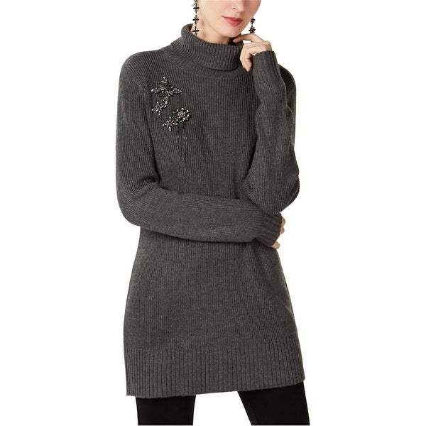 I-N-C Womens Brooch Pullover Sweater. Opens flyout.