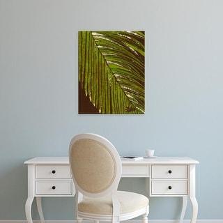 Easy Art Prints Andrea Davis's 'Batik Frond II' Premium Canvas Art