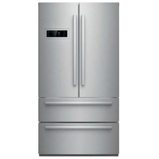 Bosch B21CL80SN 36 Inch Wide 21 Cu. Ft. French Door Refrigerator with Super Freeze - Stainless Steel