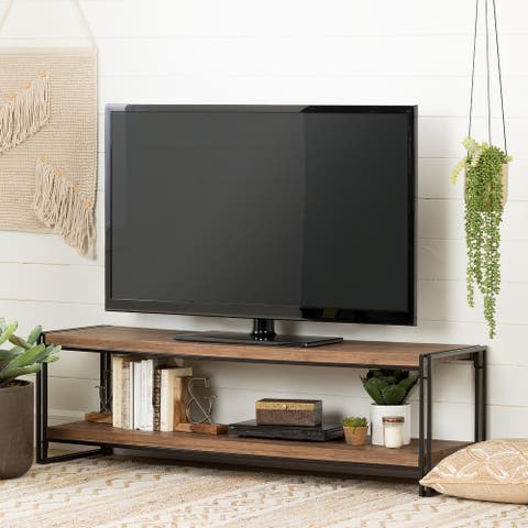 Gimetri Living Room Modern Industrial Console TV Stand