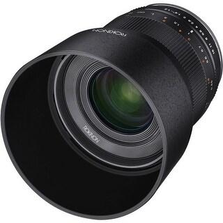 Rokinon 35mm f/1.2 ED AS UMC CS Lens for Sony E (Black) - Black