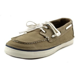 Sperry Top Sider Cruz Youth Moc Toe Canvas Boat Shoe