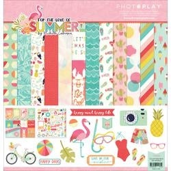 """For The Love Of Summer - Photo Play Collection Pack 12""""X12"""""""