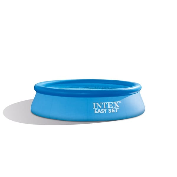 """Intex 28121Eh 10' Round 30"""" Deep Easy Set Swimming Pool With 330 Gph Filter Pump"""