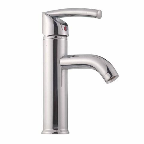 Renovator's Supply Bathroom Single Hole Sink Faucet Modern Chrome