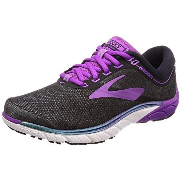 promo code 72542 24ff5 Brooks Women's PureCadence 7 Black/Purple/Multi 9 B US