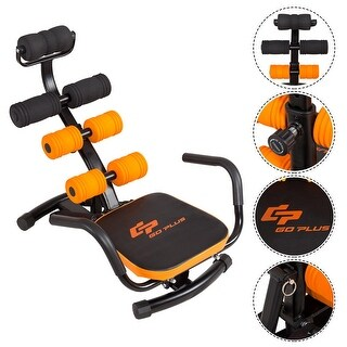 Costway Core Ab Trainer Bench Abdominal Stomach Exerciser Workout Gym Fitness Machine