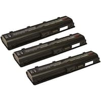 Replacement 4400mAh HP 586006-361 Battery For 586007-541 / 593553-001 Laptop Models (3 Pack)