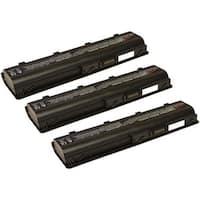 Replacement 4400mAh HP 586006-361 Battery For HSTNN-Q61C / HSTNN-YB0X Laptop Models (3 Pack)