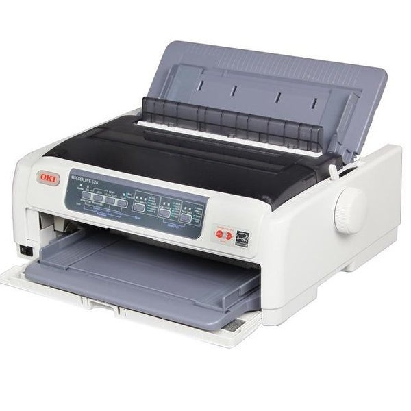 Okidata - Ml620 - Monochrome - Dot-Matrix - 9-Pin Printerhead - Impact Printer - 700 Cps