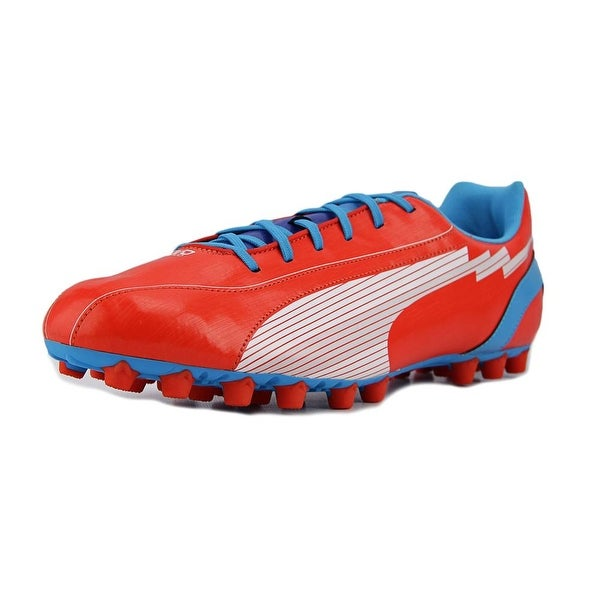 Puma EvoSPEED 5 AG Men orange-white-Hawaiian ocean Cleats - Free ... 30ecf3d46933c