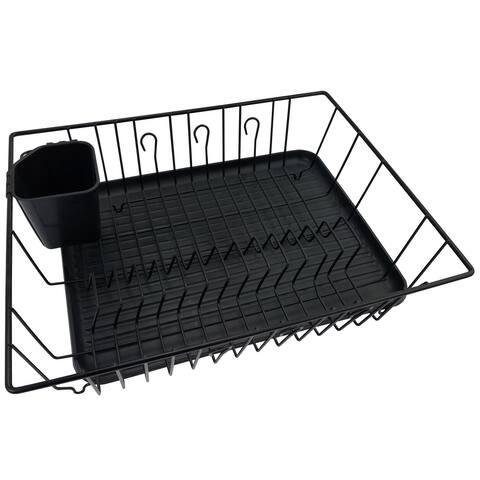 Better Chef 16-inch Dish Rack - Black