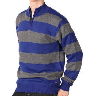 Ecko Unltd. Young Men's Rugby Stripe 1/4-Zip Sweater
