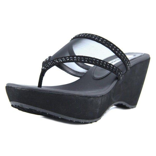 Nina Dalyne True Black Glam Sandals