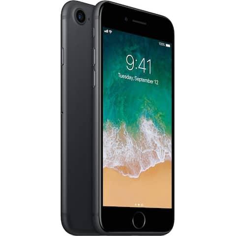 "Apple iPhone 7 128GB 4.7"" 4G LTE VerizonUnlocked,Matte Black (Scratch and Dent) - Matte Black"