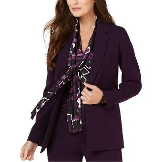 Link to Nine West Womens Notch One Button Blazer Jacket Similar Items in Suits & Suit Separates