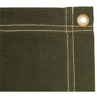 12 x 14 ft. Canvas Tarp - Olive Drab